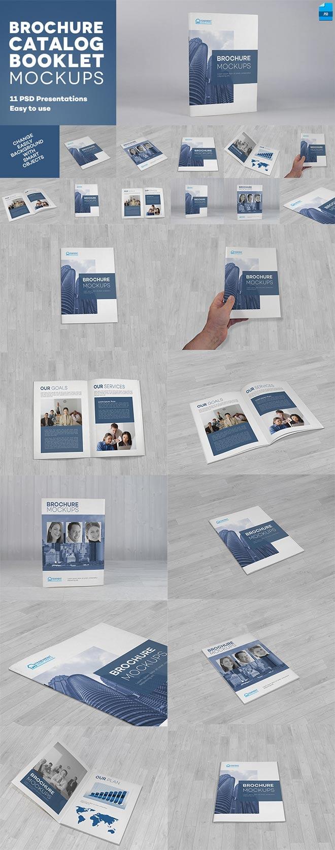 Brochure / Catalog / Booklet Mockups
