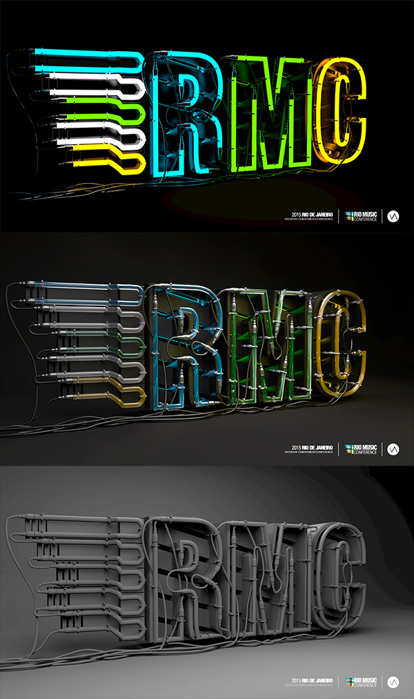 Neon Sign by Vinicius Araujo
