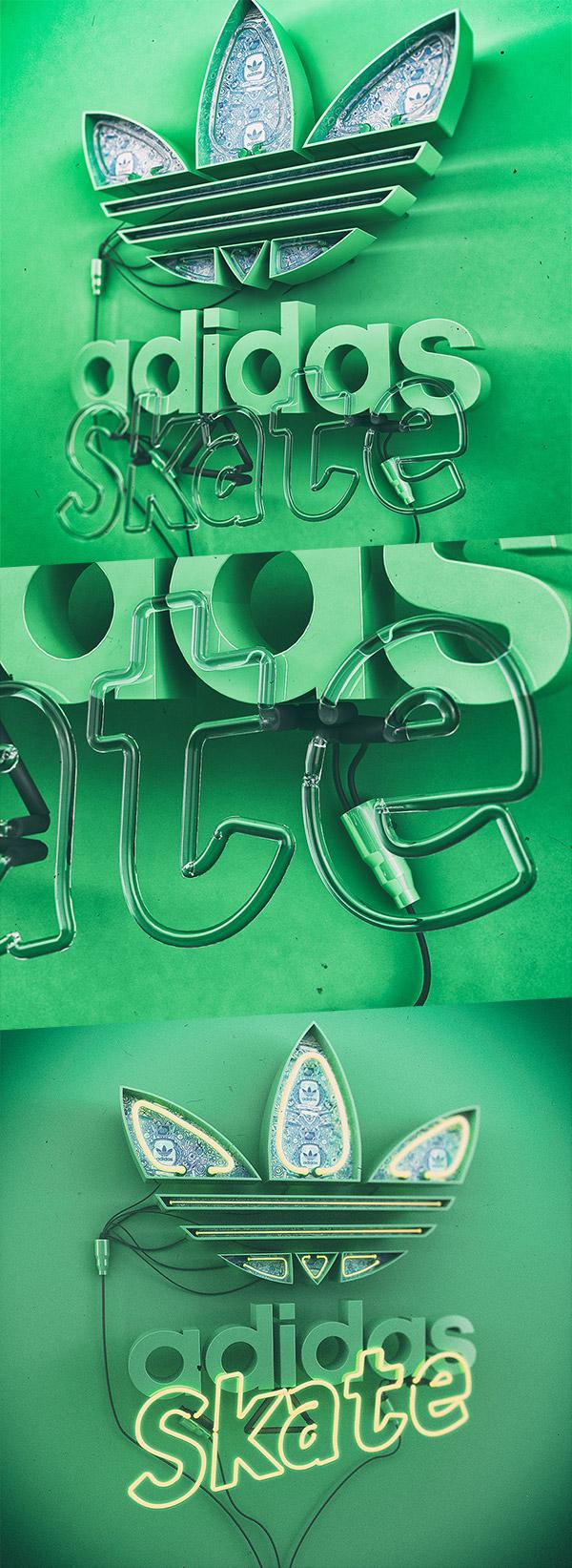 Adidas Skate Neon by Katlego Phatlane