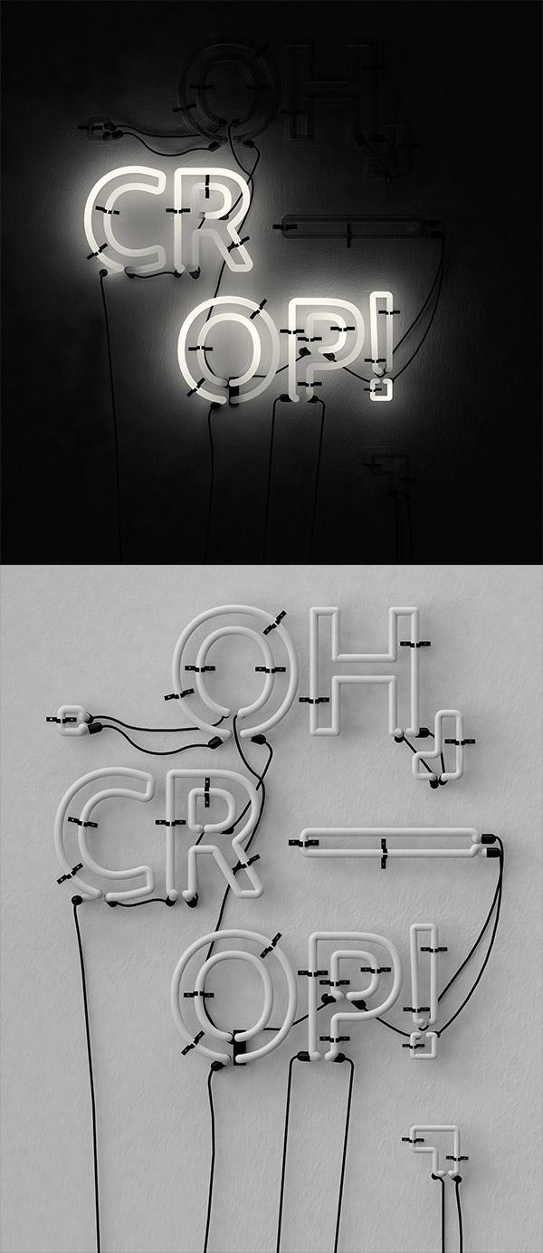 OH, CR—OP 3D by Kristina Nikaj