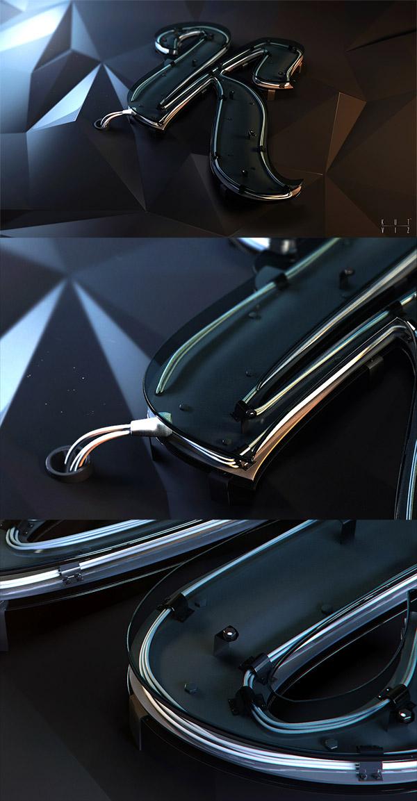 Stylization logo for Design Klimov studio