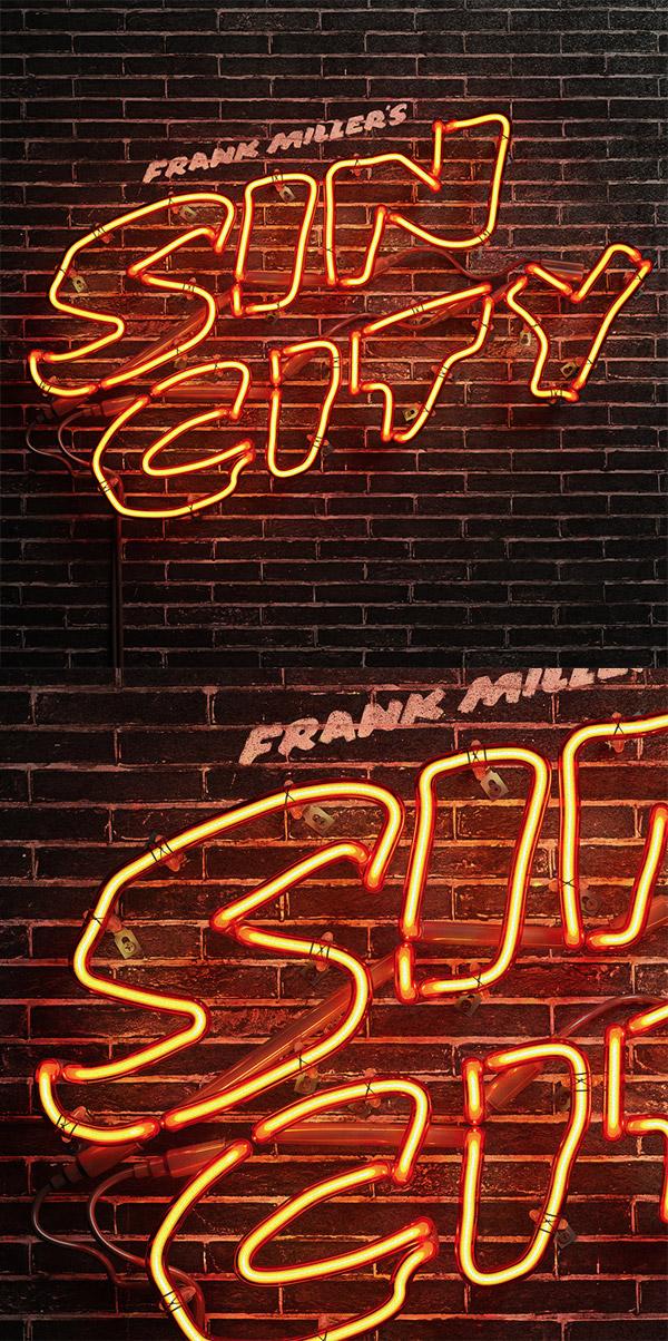 SIN CITY Neon by Rizon Parein