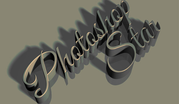 Up cool 3d text photoshop tutorial | 3d effects.