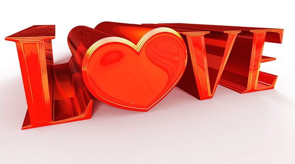 Mixing 3D Shapes and Letters in Photoshop CS6 Extended