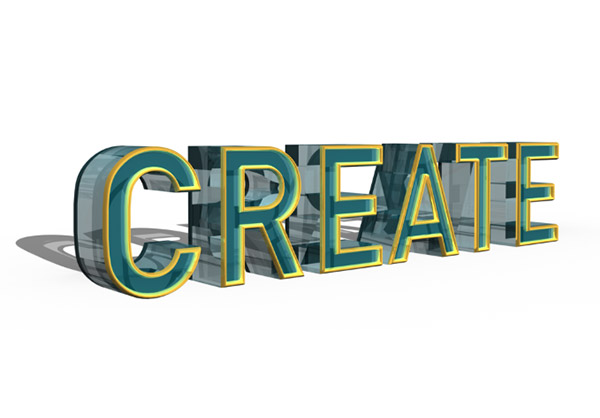 Create Rich, Detailed 3D Typography With Photoshop CS6