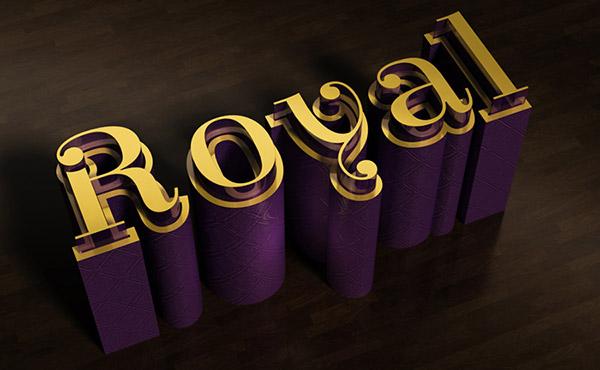 Create an Elegant 3D Text Effect in Photoshop CS6