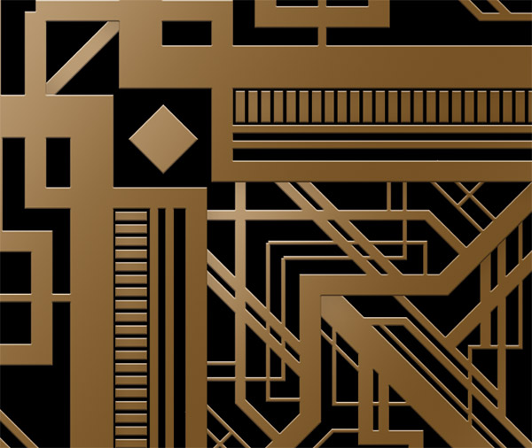 How to create a great gatsby style art deco pattern for Deco graphic