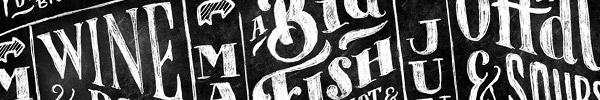 30 Inspirational Chalk Lettering Designs & Wall Murals