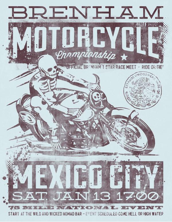 Brenham Motorcycle Championship by MUTI