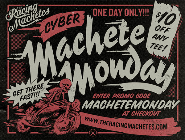 Machete Monday! by Brandon Rike
