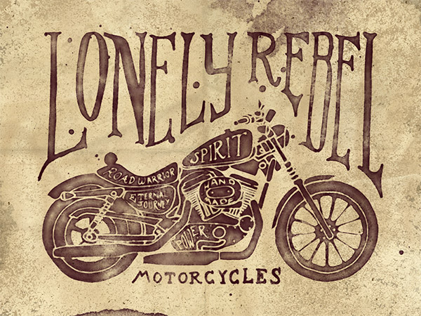 Lonely Rebels Motorcycles by Ian Barnard