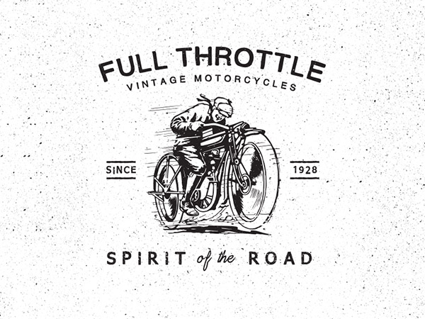 Full Throttle Motorcycles by Ian Barnard