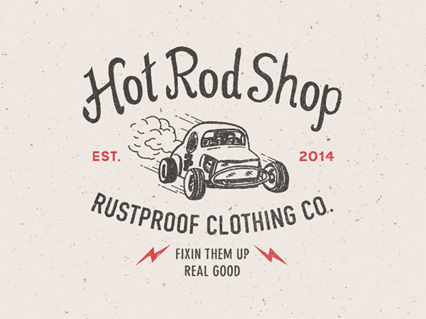RUSTPROOF Hot Rod by Steve Wolf