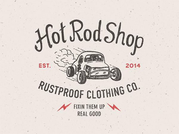 RUSTPROOF Hot Rod by Steve Wolf