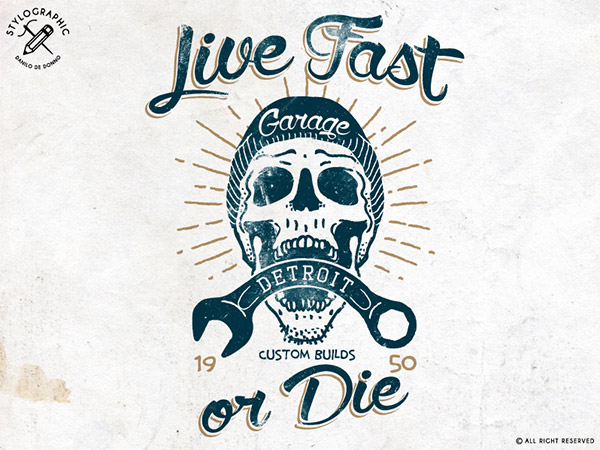 Live Fast or Die by Danilo De Donno