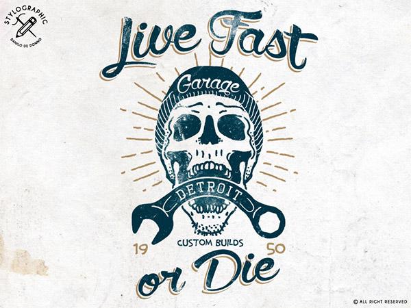 Live Fast or Die by Danilo De Donno