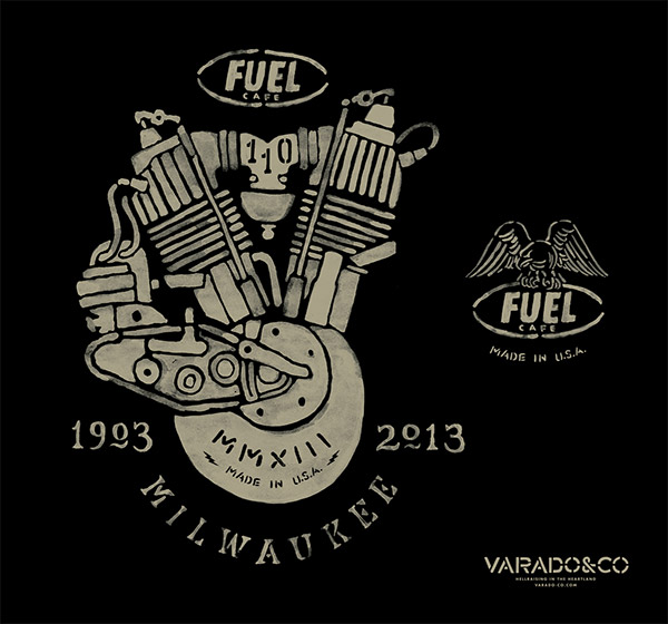 Fuel Cafe 110th Anniversary by Brett Stenson