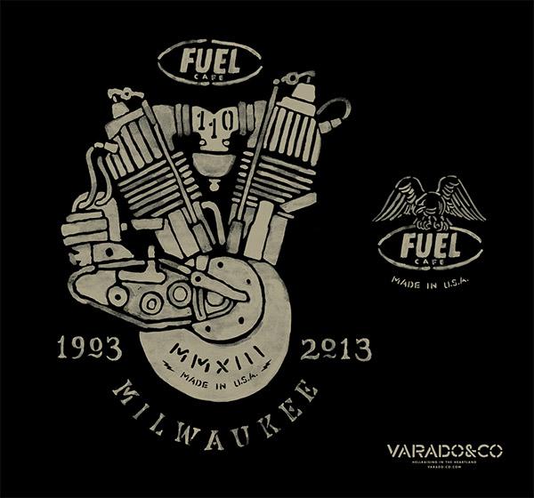 Fuel Cafe 110th Anniversary by Brett Stenson