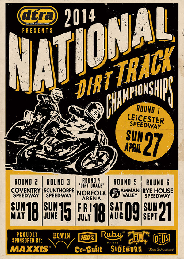 National Dirt Track Championship by Ryan Quickfall