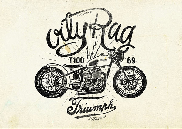 Oily Rag Speed Shop Co. by Alex Ramon Mas