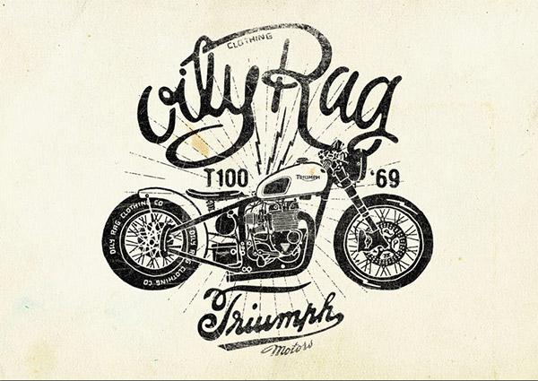 Oily Rag Speed Shop Co. by Alex Ramon Mas