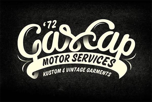 Gascap Motor's Branding by Alex Ramon Mas