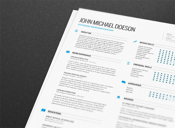 free resume cover letter by demorfoza - Interactive Resume