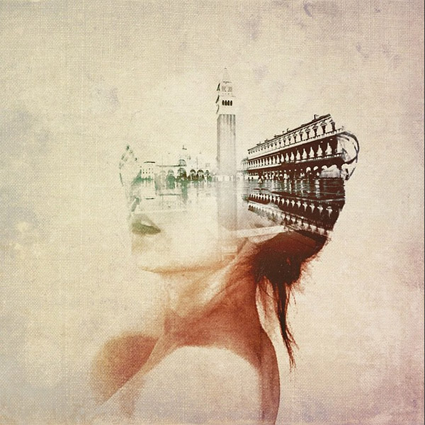 Double exposure by Hiki Komori