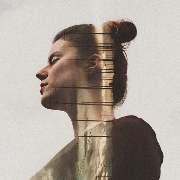 Double exposure by Sara K Byrne