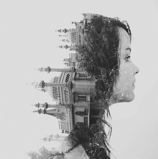 Val Double Exposure by Dan Mountford