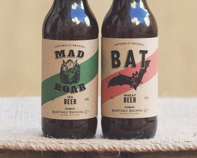 30 Creative Beer Bottle Label & Packaging Designs
