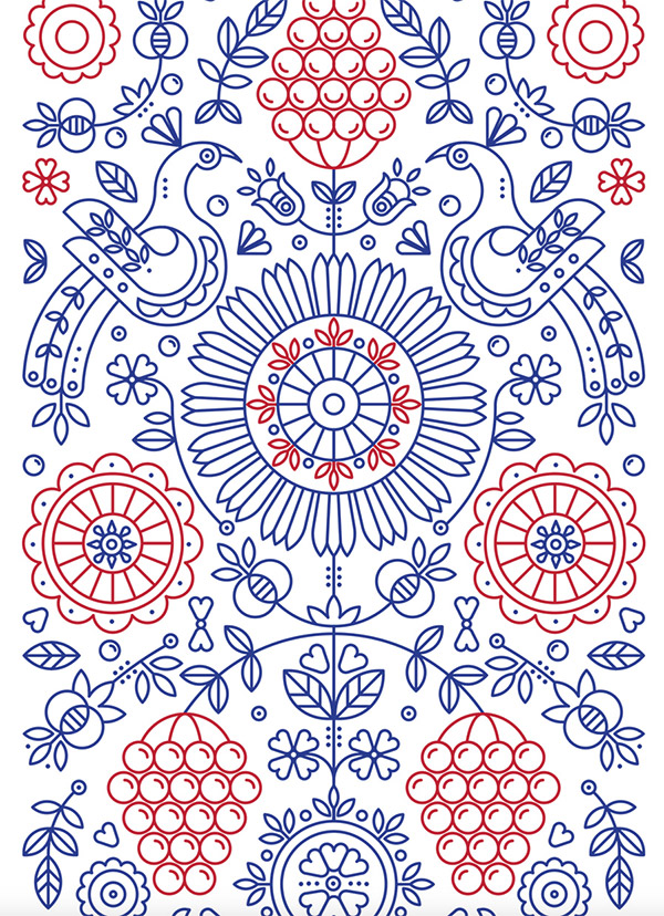 Ethnic Pattern by Maria Pastykh