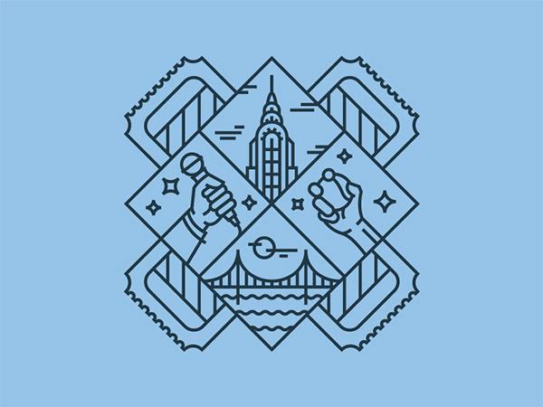 SeatGeek T-Shirt by Ben Stafford