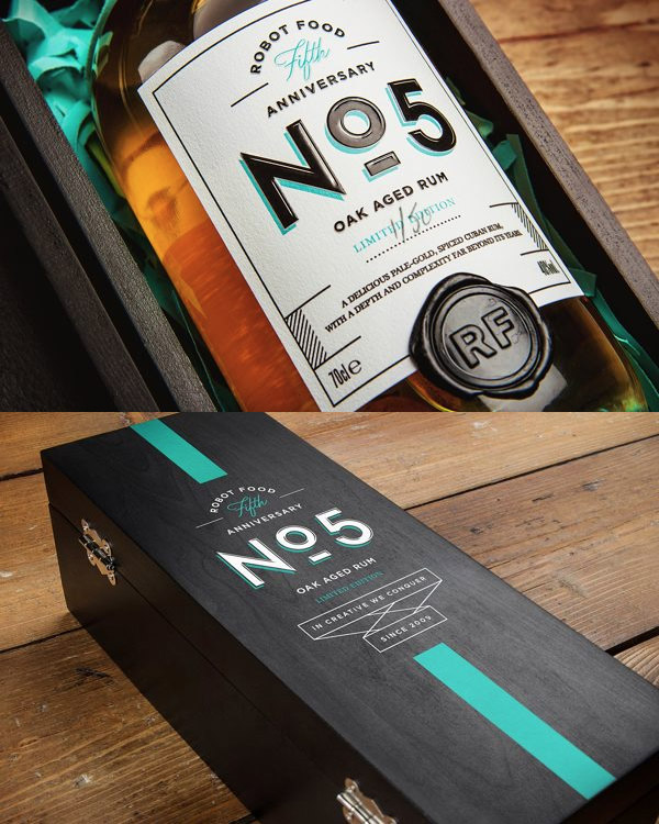 Anniversary Rum by Robot Food