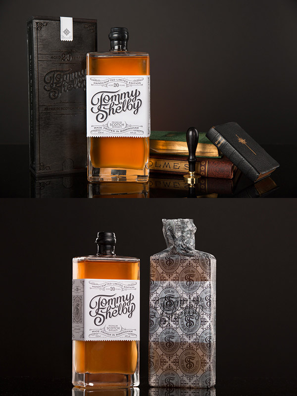 Tommy Shelby Whiskey by Scott Biersack
