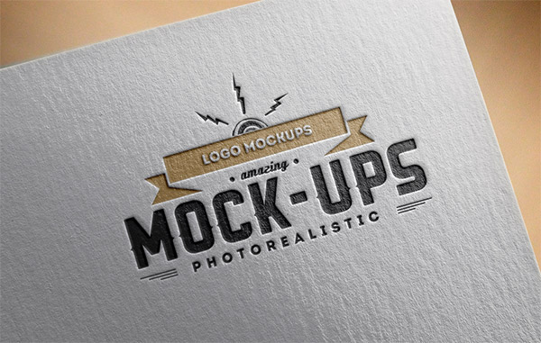 20 Free Logo Mockup PSDs to Present your Designs