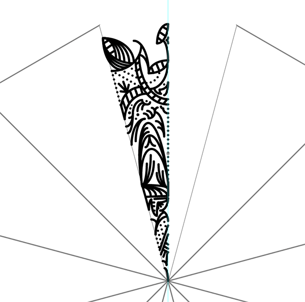 Come creare modelli Mandala complessi in Illustrator