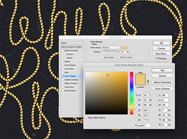 How To Create Ropes & Knots with Illustrator Brushes