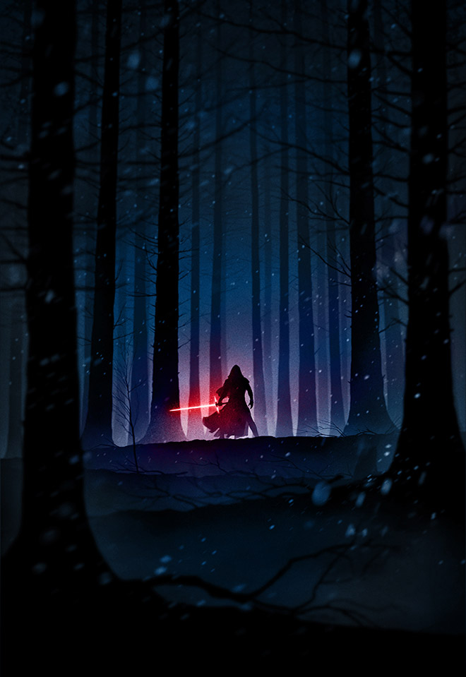 Trihowevere for Star Wars: The Force Awakens by Marko Manev