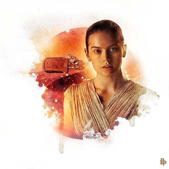 Star Wars: The Force Awakens by Richard Davies