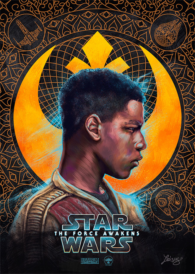 Star Wars: The Force Awakens Posters Light + Dark Side