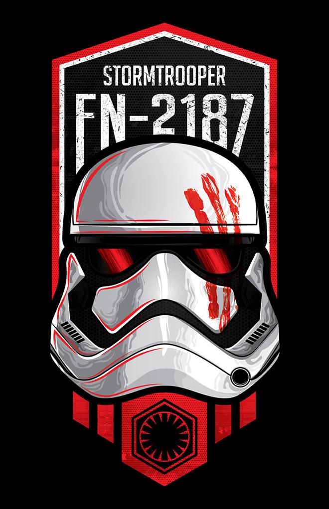 Stormtrooper Finn by Ottoniel Acevedo