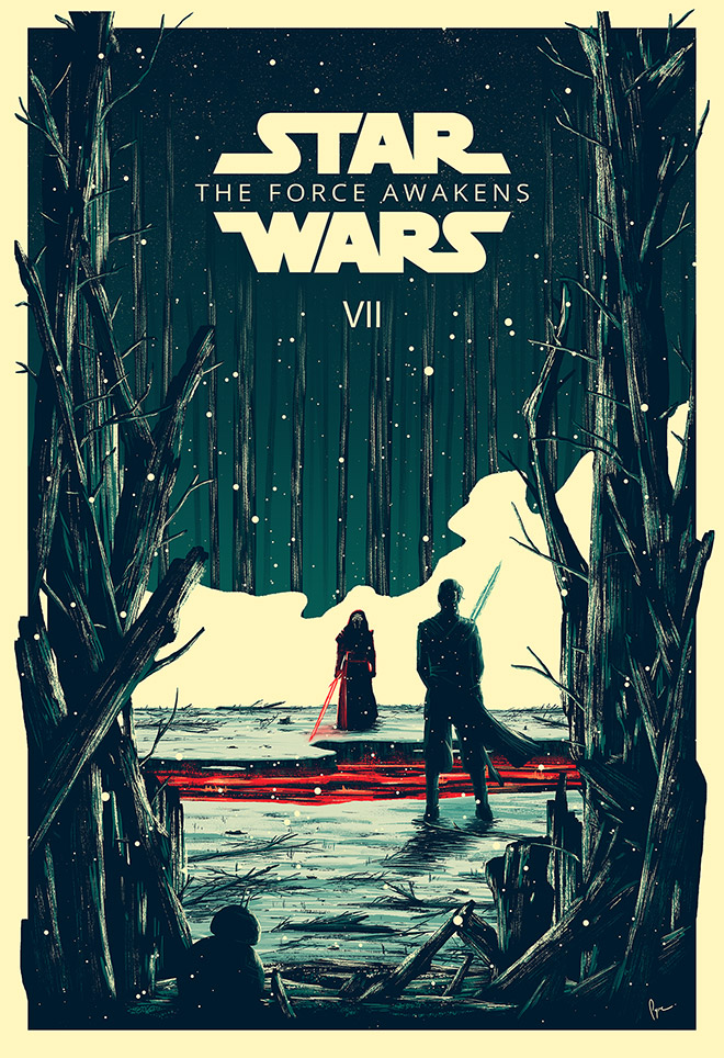 Star Wars The Force Awakens by Derek Payne