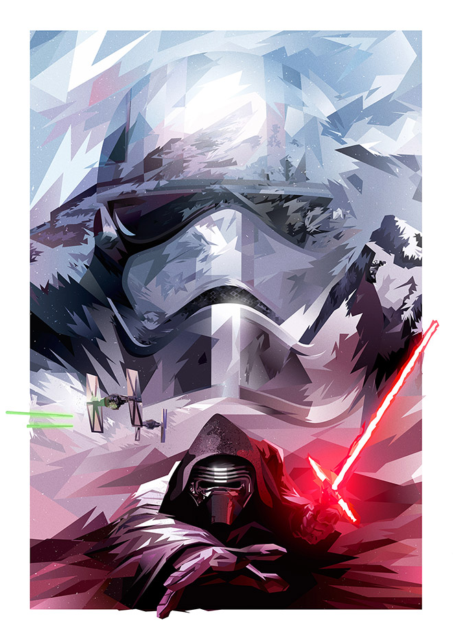 Star Wars: The Force Awakens Trihowevere by Kate Jones