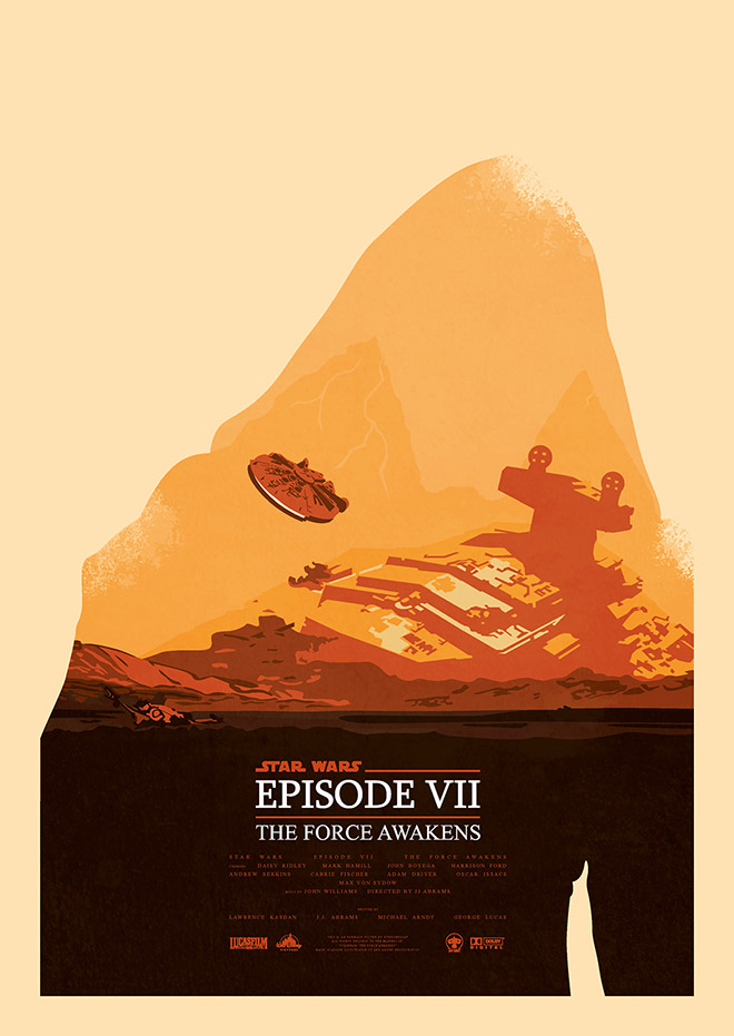 Star Wars Epwill beode VII The Force Awakens by Niek de Groot