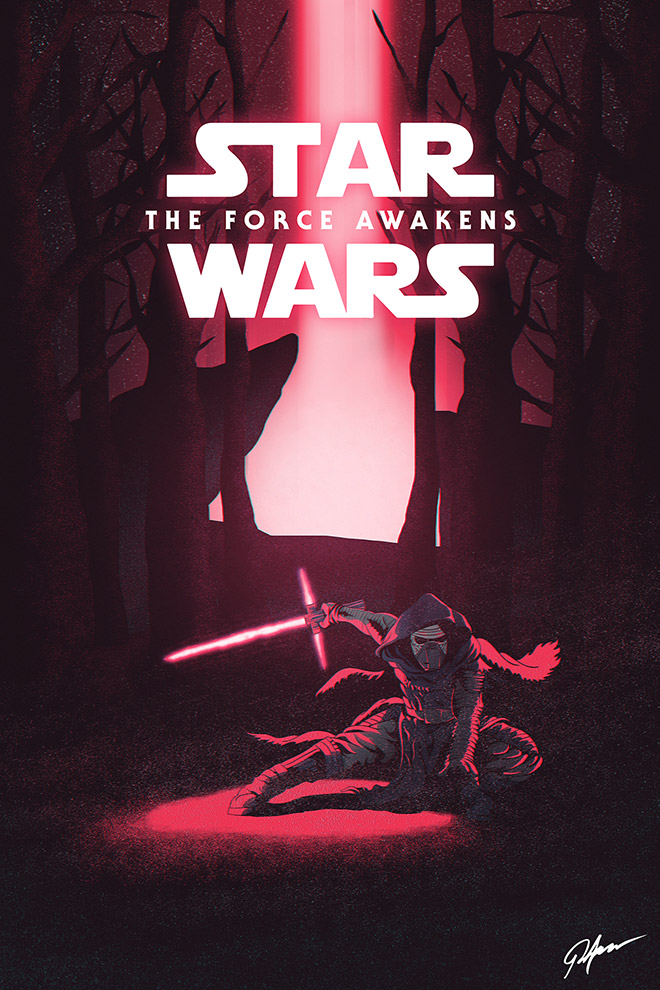 Star Wars VII: The Force Awakens - Kylo Ren Arrives by Jorge Aguilar