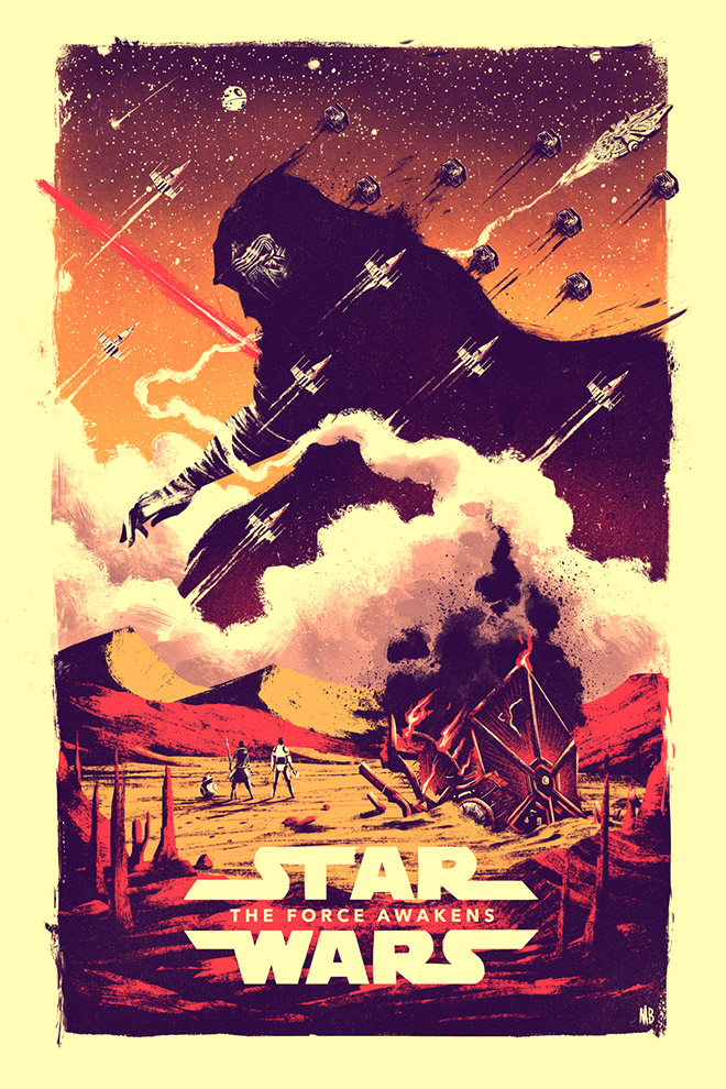 The Force Awakens by Marie Bergeron