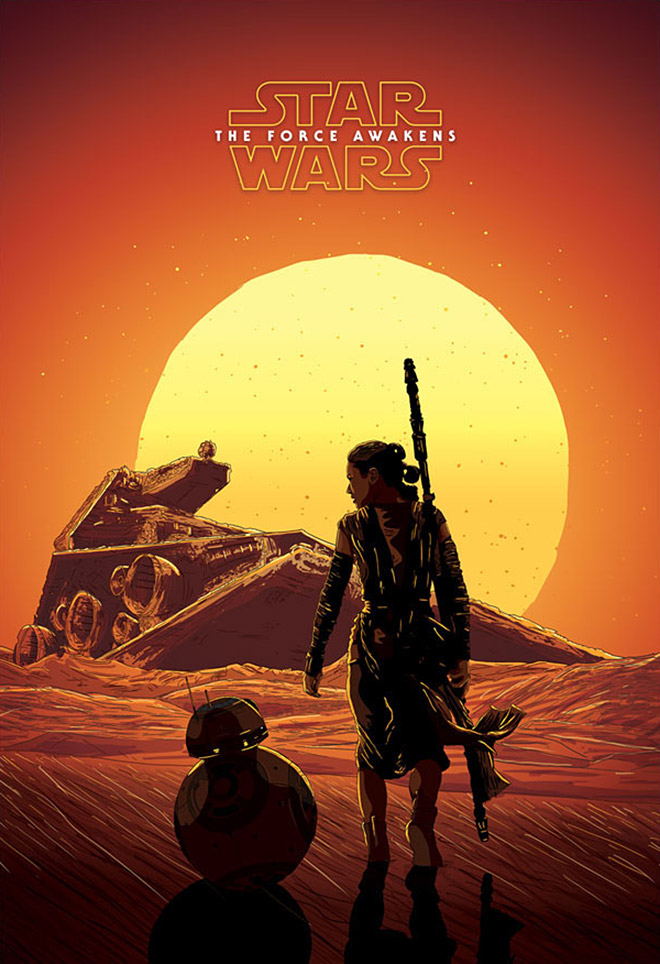 A Force Awakens by Steph Bourne