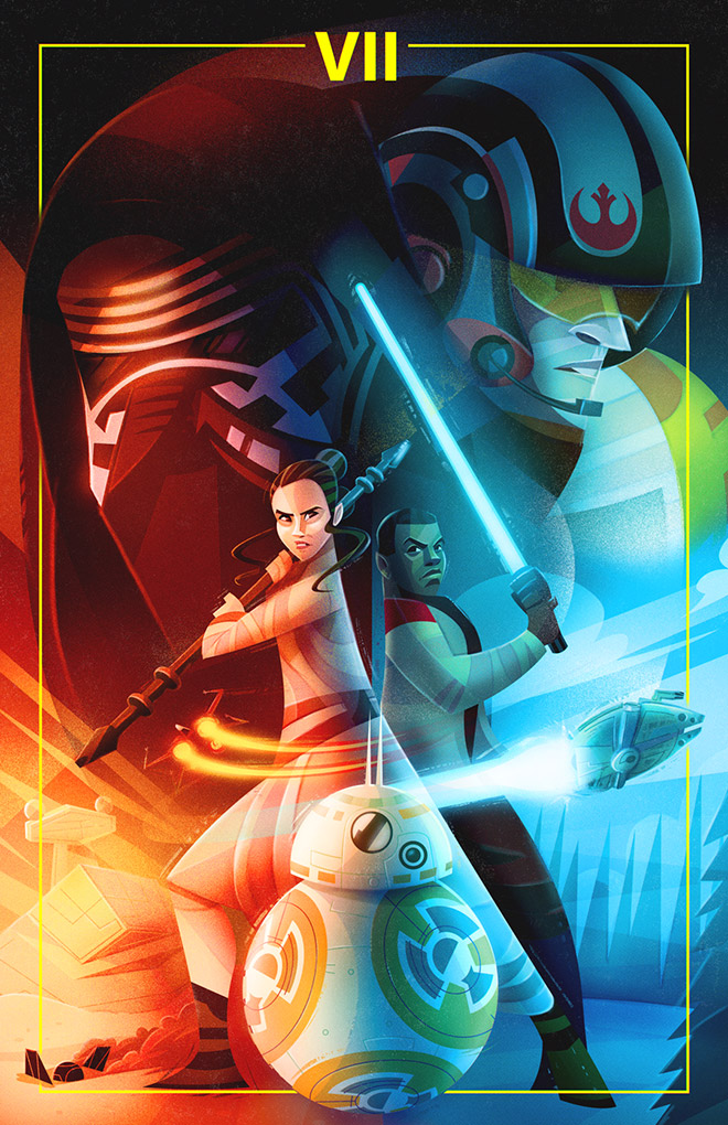 The Force Awakens by Carlos Lerma