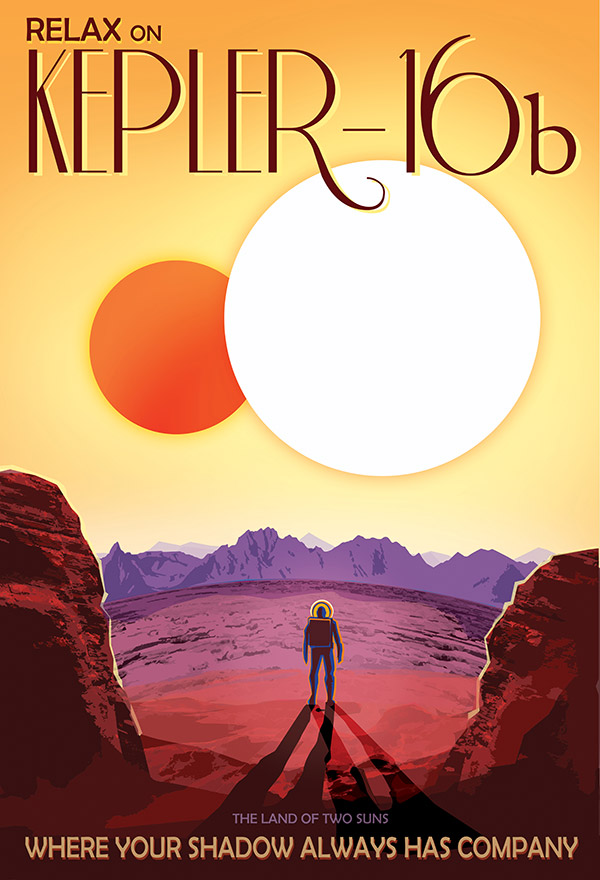 Kepler-186 f Exoplanet Travel Bureau by NASA